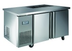 Luxury project static cooling 03 table top refrigerator(sandwich counter)