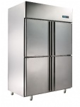 Standard D type copper four static cooling refrigerator