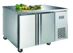 Luxury project ventilated 02 table top refrigerator